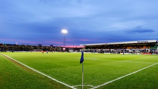Victoria Park, home of Hartlepool United.