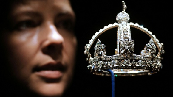 Queen Victoria&#x27;s Small Diamond Crown