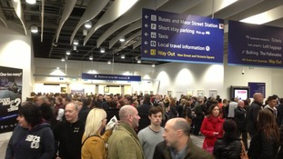 230,000 people used the station last Saturday - 130,000 more than usual