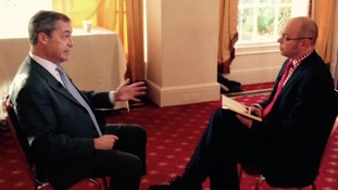 Ukip leader Nigel Farage speaks to ITV Wales Political Editor Adrian Masters.