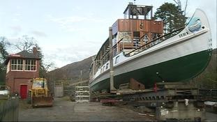 Windermere's oldest cruiser gets a makeover