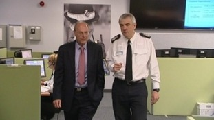 PCC Alan Hardwick and Lincs Chief Constable Neil Rhodes