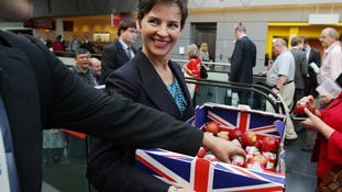 Shadow Environment Secretary Mary Creagh.