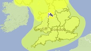 Strong wind warning for Thursday & Friday