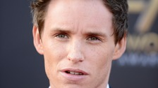 Eddie Redmayne will grace the red carpet tonight at London's Leicester Square