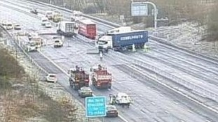 M25 Clockwise Motorway - J26, Waltham Abbey / Loughton