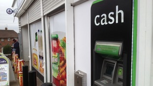 The cash machine in Lockleaze charges £1.85 for withdrawals