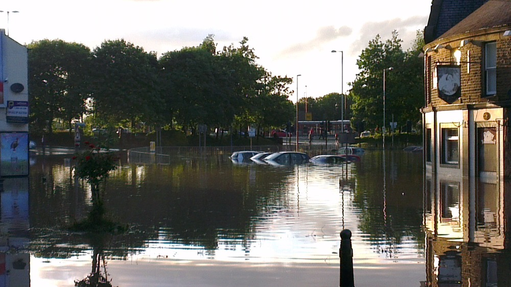 Pub Forced To Close After Last Night S Floods Tyne Tees