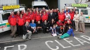 The Central Beacons Mountain Rescue Team