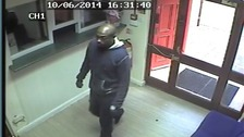 Police would like to speak to this man in connection with the theft