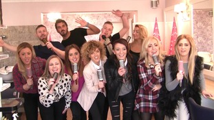 Hairdresser singing sensation