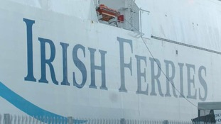 Irish Ferries boat.