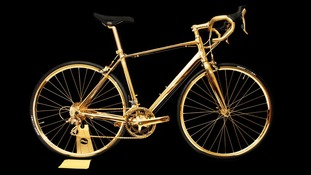 24-carat gold bike goes up for sale, costing more than a Ferrari