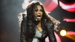Janet Jackson performing during Capital FM's Jingle Bell Ball at the O2 Arena in London
