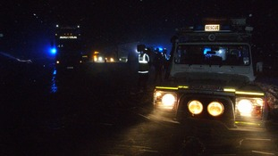 Border Search and Rescue Unit were called out along with neighbouring Tweed Valley and teams from Northumberland