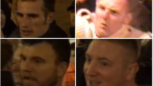 Do you know these men? CCTV released after football disorder.
