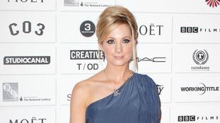 Joanne Frogatt arrives at the Moet British Independent Film Awards at Old Billingsgate Market in London.