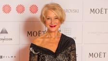 Dame Helen Mirren arrives at the Moet British Independent Film Awards, at Old Billingsgate, London.