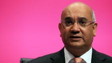 Home Affairs Committee Chair Keith Vaz.