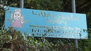 nursery sign