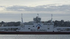 red funnel ferry