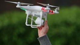 Christmas drone warning as report finds 'near miss'