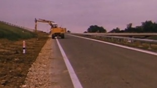 The first section of the M11 to open in 1975 replaced some parts of the A11.
