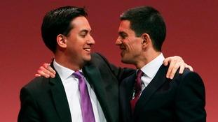 Ed and David Miliband.
