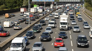The collision occurred between junctions 24 and 25 of the M25.