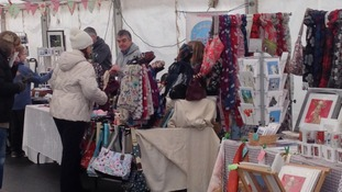 The market is part of the Penrith Winter Festival