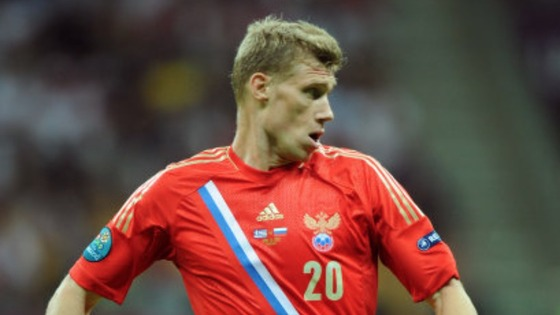 Russia&#x27;s Pavel Pogrebnyak