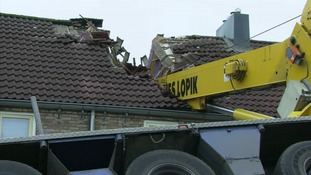 The damage caused by the proposal in Ijsselstein, Holland.