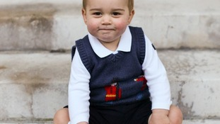 Prince George has the same fashion pulling power as his stylish mother.