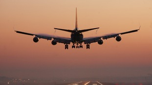 File photo dated 02/01/08 of an early morning passenger jet preparing to land at Gatwick Airport in West Sussex
