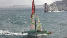 Trimaran and Needles
