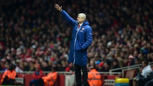 Arsene Wenger is hoping to take Arsenal past the last 16 this season.