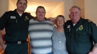 Man recovering after suffering nine cardiac arrests