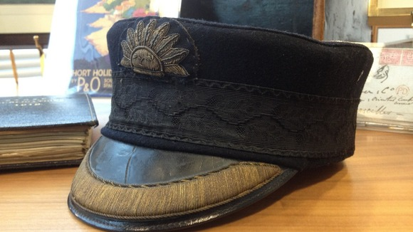P&O Captains cap
