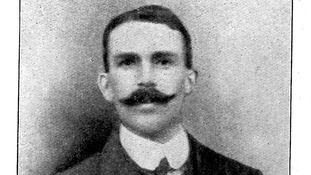 Pte Theo Jones of the Durham Light Infantry