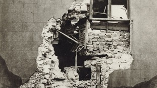 Hartlepool'd Baptist Church was badly damaged