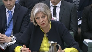 Theresa May insists she did not request any redactions to an US report that exposed brutal CIA interrogation methods.