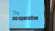 Co-operative Bank sign.