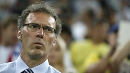 France manager Laurent Blanc.