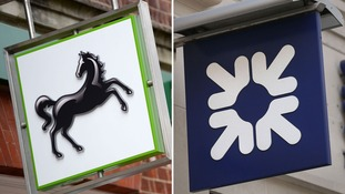 Lloyds Banking Group and Royal Bank of Scotland have narrowly passed a Bank of England stress test .