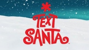 The Text Santa logo