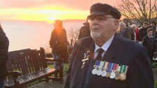 The town of Scarborough stood still this morning as the Last Post played.