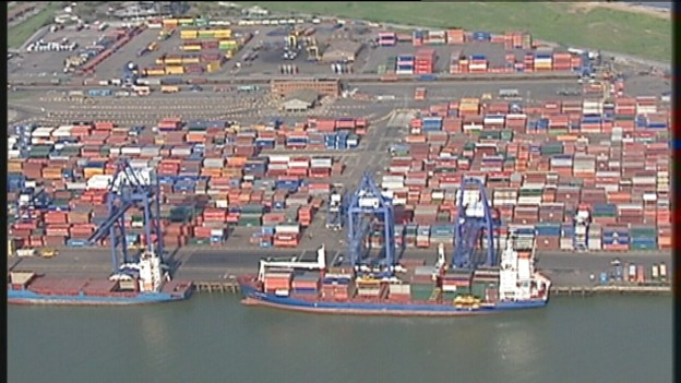 Felixstowe port 