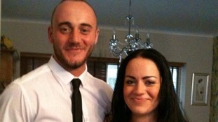 Robert Hart and girlfriend Gemma