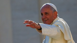 Pope Francis welcomed the move towards normalising US-Cuban relations.