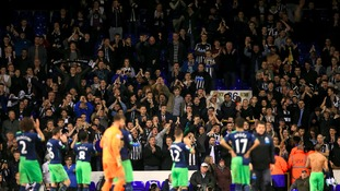 Newcastle crash out of Capital One Cup after 4-0 defeat to Spurs
